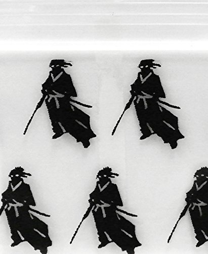 Samurai Ninja 1010 Original Mini Ziplock 2.5mil Plastic Bags 1 x 1 Reclosable Baggies The Baggie Store