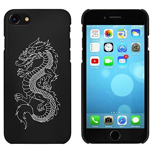 Noir 'Dragon Chinois' étui / housse pour iPhone 7 (MC00060253)