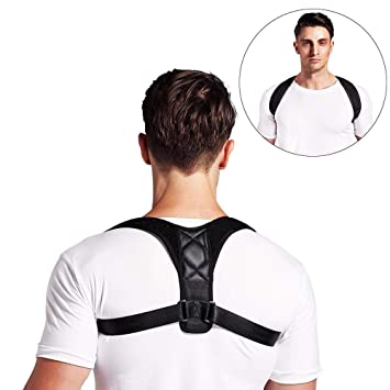 3d5921f931 YiYunTE Posture Corrector for Women and Men - Adjustable Posture Back Brace  Posture Correction Posture Support