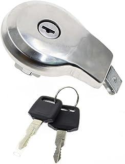 GooDeal Fuel Gas Tank Cap Cover with Keys fit Yamaha Maxim XJ XS 400 550 650 700 750 1100