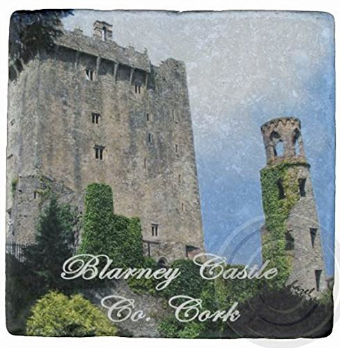 Blarney Castle, Co. Cork. Irish/Ireland Marble Coasters.