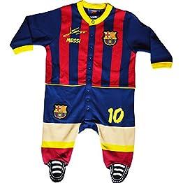 Grenouillère bébé Barca - Lionel Messi - Collection Officielle FC Barcelone