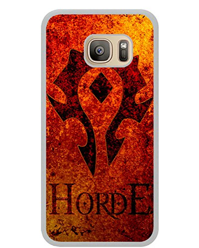 Samsung Galaxy S7 horde symbol wow world of warcraft White Shell Cover Case,Fashion Case