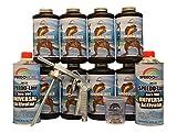Speedokote T-Rex Black Bed Liner, 2K Urethane, SMR-1000-K8 Truck Bedliner w/Free Spray Gun