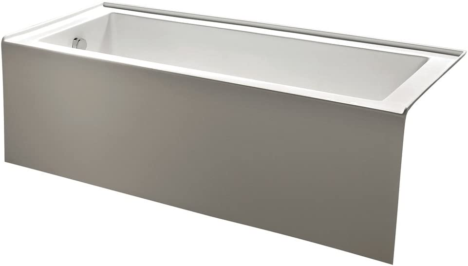 KINGSTON BRASS VTDE603122L Alcove Acrylic Bathtub
