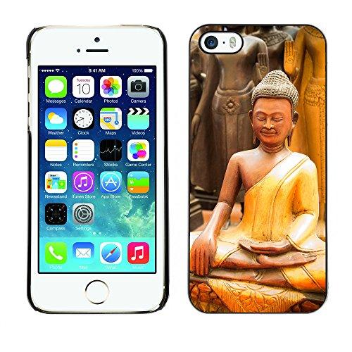 Premio Sottile Slim Cassa Custodia Case Cover Shell // F00012732 Bouddha // Apple iPhone 5 5S 5G