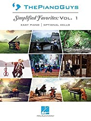 The Piano Guys - Simplified Favorites, Vol. 1: Easy Piano Arrangements with Optional Cello Parts by The Piano Guys (2014) Paperback
