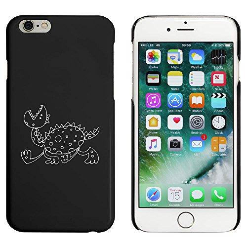 Schwarz 'Laufender Drache' Hülle für iPhone 6 u. 6s (MC00031981)