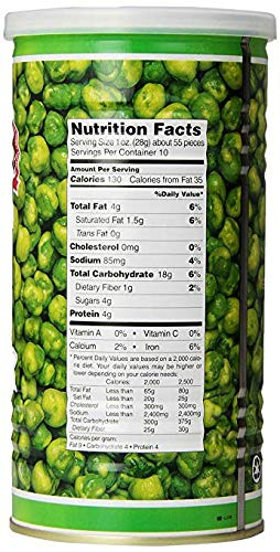Hapi Snacks Wasabi Peas, Hot, 9.9 Oz (Pack Of 8) by HAPI (Image #2)