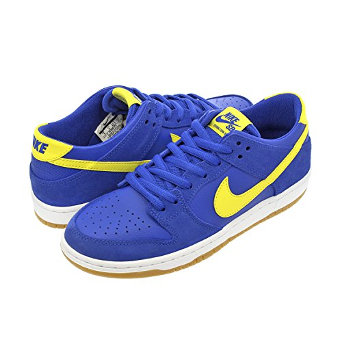 Nike Men's SB Zoom Dunk Low Pro Skate Shoe Varsity Royal/Lightening Size 7.0