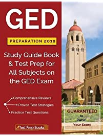 Amazon test prep study guides books ged preparation 2018 all subjects exam fandeluxe Choice Image