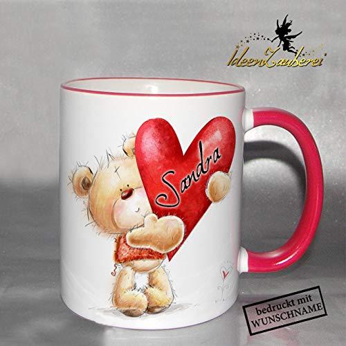 Namenstasse Valentinstag Tasse Mit Namen Zum Valentinstag