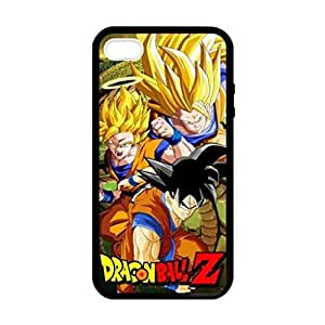 Dragon Ball Z Son Goku Image Protective Iphone 5s / Iphone 5 Case Cover Hard Plastic Case for Iphone 5 5s