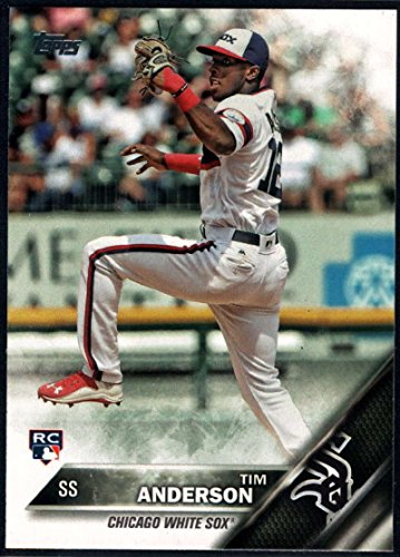 Baseball MLB 2016 Topps Update #US287 Tim Anderson NM-MT RC White Sox