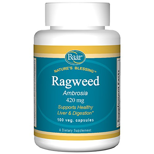 Baar Ragweed Capsules, 420 mg, 100 Vegetarian -
