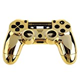 PS4 Controller Housing Cover - SODIAL(R) Front Back Housing Cover for PS4 Controller - Gold Plating, Gold