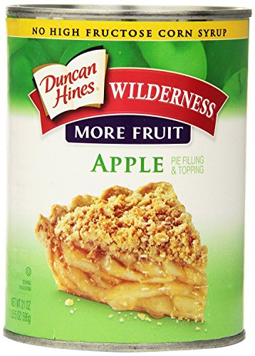 Wilderness More Fruit Pie Filling & Topping, Apple, 21 Ounce