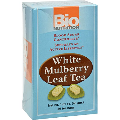 Wholesale Mulberry (Bio Nutrition Tea - White Mulberry - 30 Bags - Gluten Free - Supports an Active Lifestyle - Vegetarian)