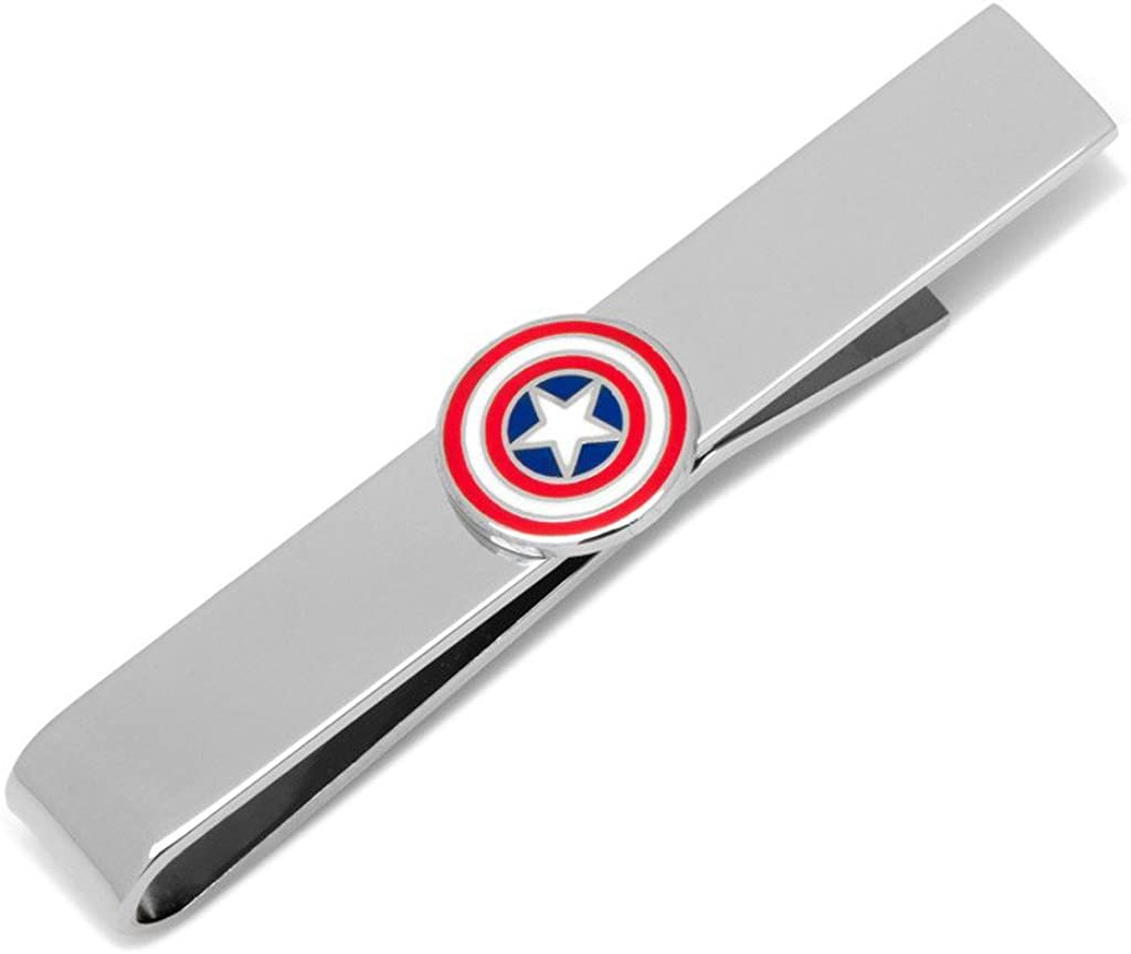 Marvel Captain America Shield Tie Bar