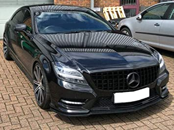 W219 CLS Sport grille grill AMG Style MATT BLACK MODELS TO 2008
