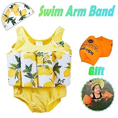 AMENON Baby Boys Girls Floatation Swimsuits Swim Vest with Adjustable Buoyancy