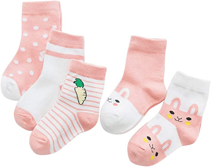 2016 Girl Baby Toddler Kids Knee High Cotton Bowknot Long Casual Socks 0-4years