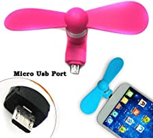 TryKart Mobile Phone Mini Fan with Micro Pin for Andriod Devices