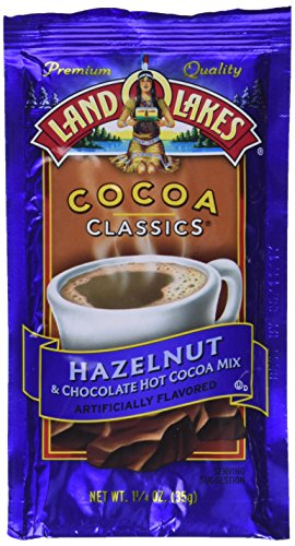 Land O Lakes Cocoa Classics, Chocolate & Hazelnut, 1.25-Ounce Packets (Pack of 36)
