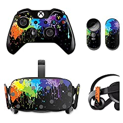 MightySkins Protective Vinyl Skin Decal for Oculus Rift CV1 wrap cover sticker skins Splatter