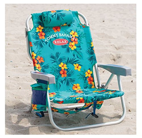 Tommy Bahama 2017 Backpack Cooler Beach Chair Lounge with...