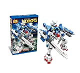 Brand New Block Games Are Available with Many Options (Robot,tanks,space Etc.) (Loz I Robot White 560Pcs)