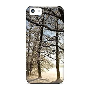 NadaAlarjane Iphone 5c Well-designed Hard Case Cover Winter Scenery Nature Protector