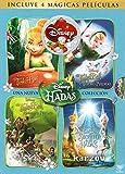 Coleccion Tinkerbell En Espanol (Tinkerbell / Tinkerbell y El Tesoro Perdido / Tinkerbel Hadas Al Rescate / Tinkerbell y El Secreto de Las Hadas) 4 DVD's region 1 y 4