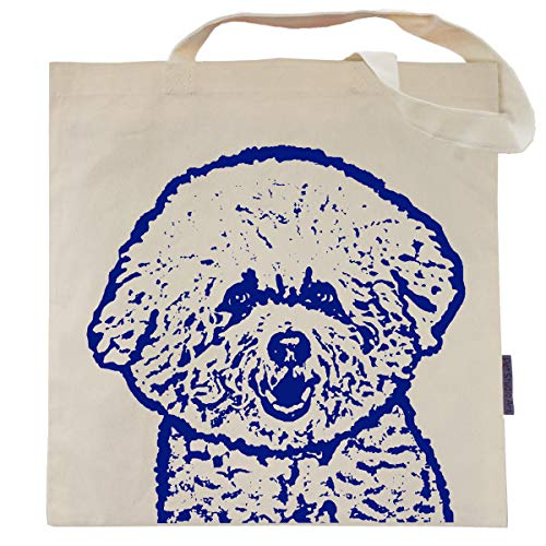 - Caddie the Bichon Frise Tote Bag by Pet Studio Art