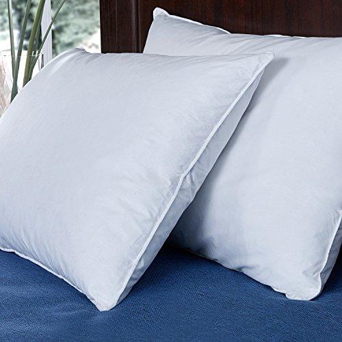 Puredown Down Feather Pillow White