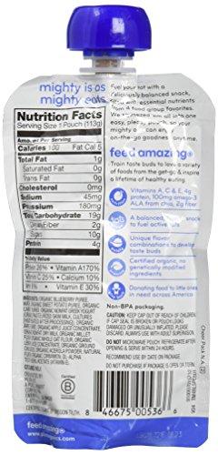 Plum Organics Tots Mighty 4 Toddler Food, Sweet Potato, Carrot, Blueberry, Apple, Greek Yogurt, Millet and Oat, 4 Ounce-6 count by Plum Organics (Image #4)