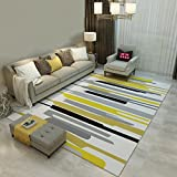 Interior carpet Rectangular carpet Europe and the United States style living room bedroom coffee table carpet blanket (Size : 160CM230CM)