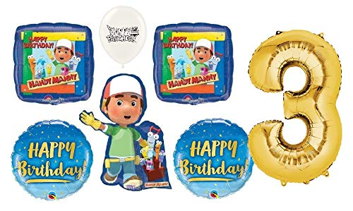 handy manny party pack - 8