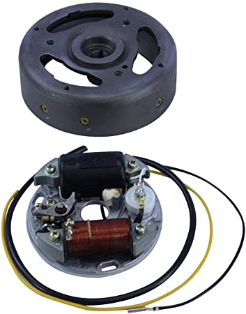 Zündapp Lichtmaschine 6v 15w Linksdrehend Lima Lichtmaschinenankerplatte Auto