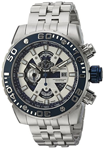 GV2-by-Gevril-Mens-1400B-Polpo-Analog-Display-Swiss-Quartz-Silver-Watch