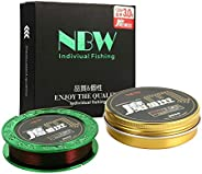 Mounchain 100% PE 4 Strands Braided Fishing Line, 10 20 30 40 LB Sensitive Braided Lines, Super Performance an