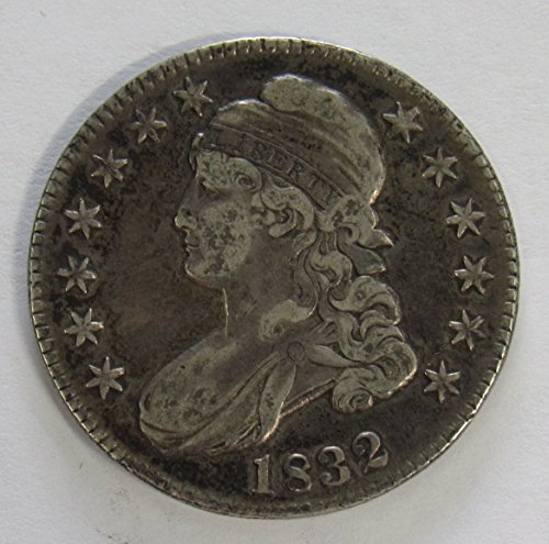(1832 Capped Bust Half Dollar 50c Extremely Fine O-106 R.1)