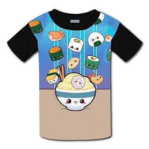 Yangjio T-Shirt Cute Sushi Costume Xl Short Sleeve For Youth]()
