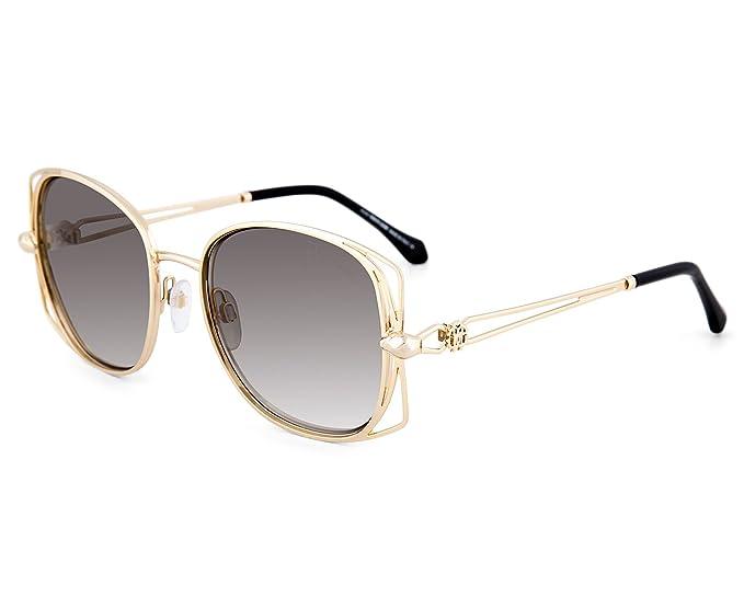 81f1843497e2f8 Image Unavailable. Image not available for. Color  Sunglasses Roberto  Cavalli CASENTINO RC 1031 32B gold   gradient smoke