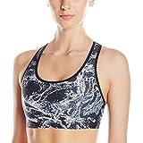 Kyпить Champion Women's Absolute Bra Printed, Black Splish Splash/Black, Medium на Amazon.com