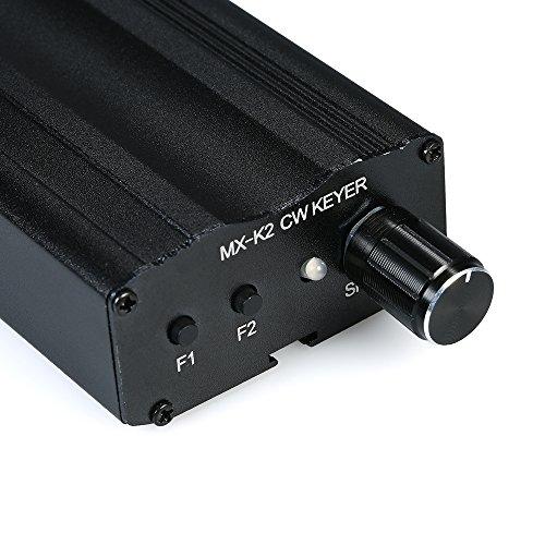 KKmoon MX-K2 CW Auto Memory Key Controller Morse Code Keyer for Old Ham Radio Amplifier