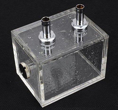 ZJchao 200ml Acryl Wasser Tank K/ühler Wasserk/ühlung K/ühler Pc CPU Wasserblock