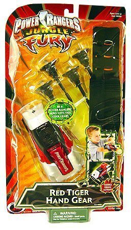 Power Rangers Jungle Fury - Red Tiger Hand Gear -