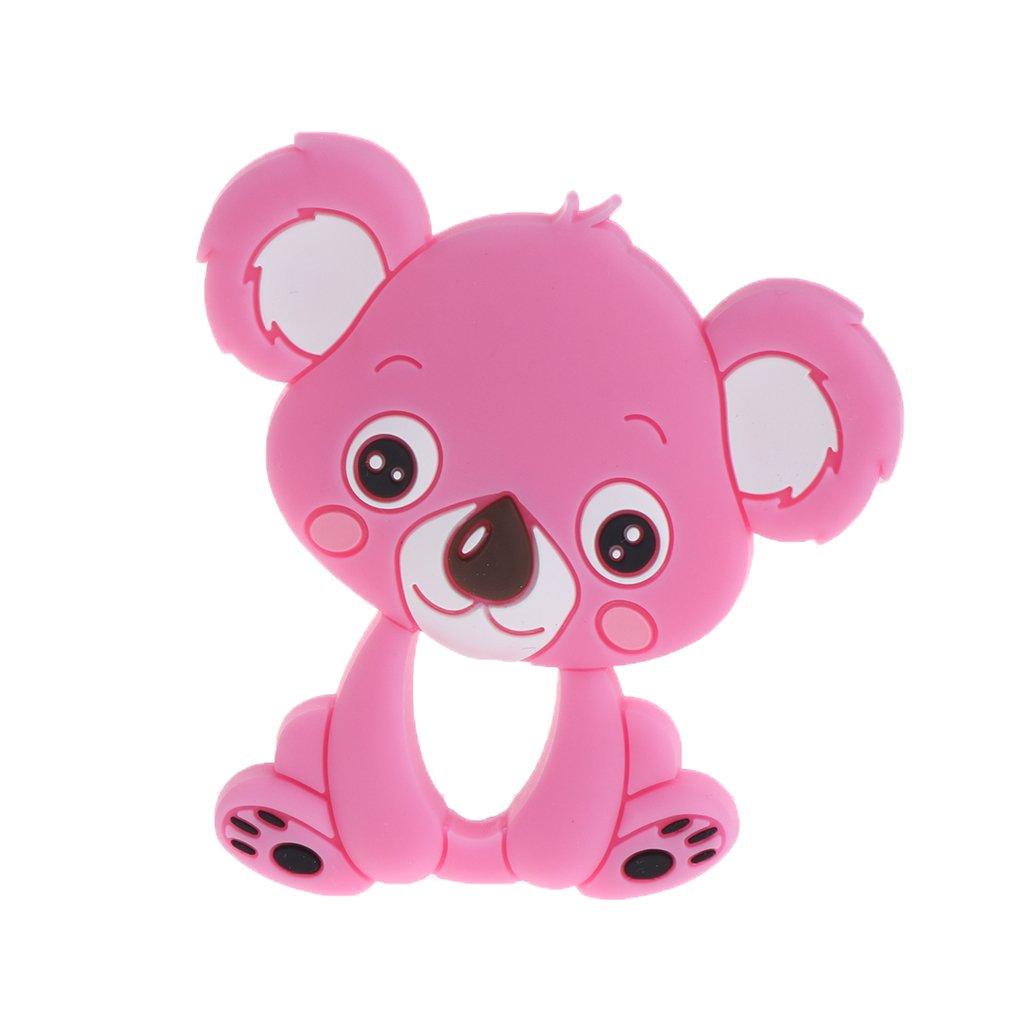 Exing Baby Anneau de dentition en silicone Nette Koala pour enfant