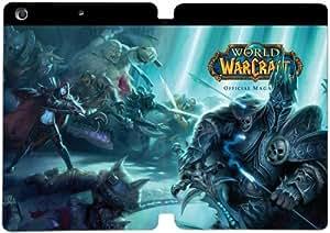 Cubierta de cuero y caja de la PC funda / soporte para funda de Apple iPad Mini 1,2,3 funda Con Magnetic reposo automático Función de despertador DIY por World Of Warcraft B5C5Bc6Y4Cv